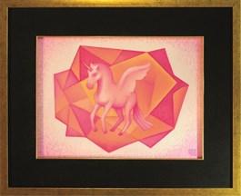 Obraz do salonu artysty Katarzyna Kania pod tytułem Krystaliczny Wymiar IV