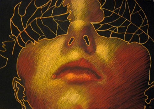 Obraz do salonu artysty Katarzyna Kania pod tytułem Jesień VII