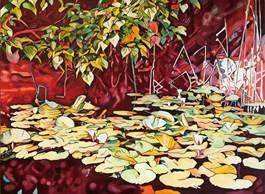 Obraz do salonu artysty Joanna Szumska pod tytułem Nymphaea