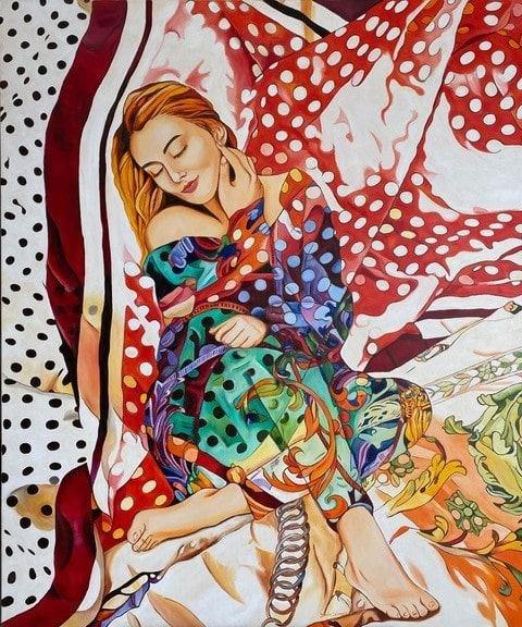 Obraz do salonu artysty Joanna Szumska pod tytułem W moim śnie