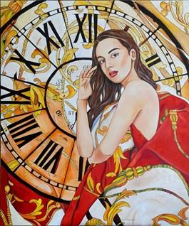 Obraz do salonu artysty Joanna Szumska pod tytułem Jedna chwila