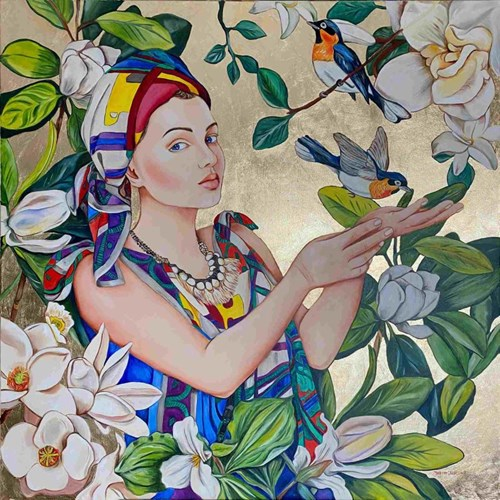Obraz do salonu artysty Joanna Szumska pod tytułem Viva la Vida