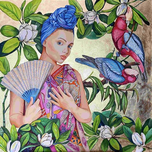 Obraz do salonu artysty Joanna Szumska pod tytułem Wiosenne wróżby