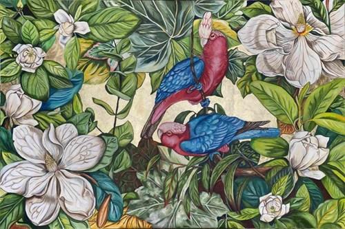 Obraz do salonu artysty Joanna Szumska pod tytułem Ciche schronienie