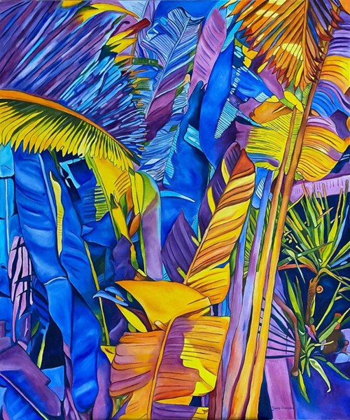 Obraz do salonu artysty Joanna Szumska pod tytułem Paraiso Azul