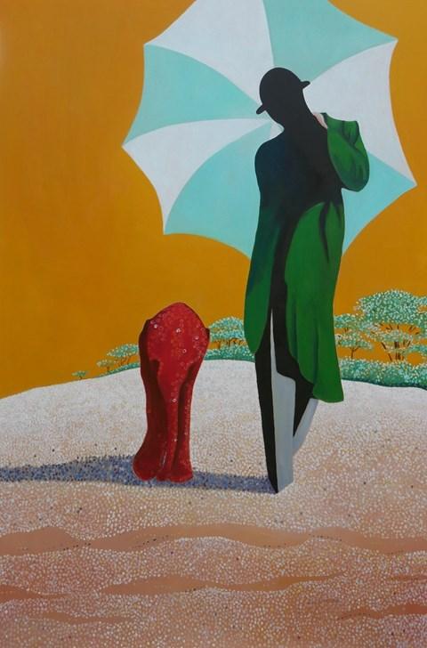 Obraz do salonu artysty Jolanta Kitowska pod tytułem Chodź ze mną II