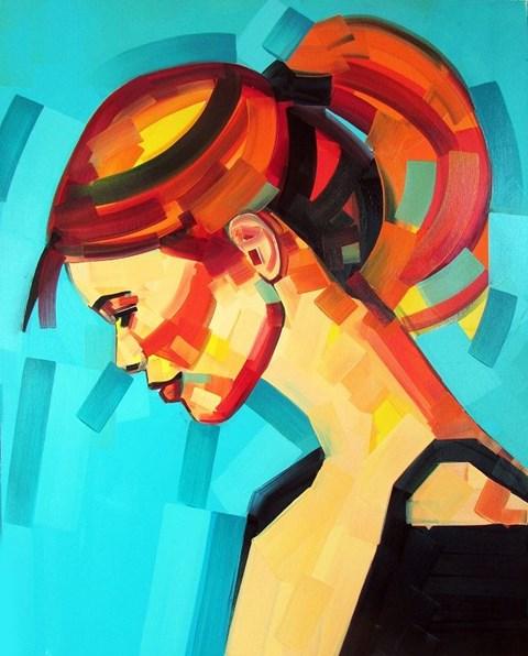 Obraz do salonu artysty Piotr Kachny pod tytułem StyleVolution