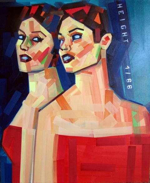 Obraz do salonu artysty Piotr Kachny pod tytułem Love for Pleasure