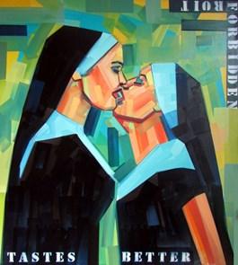 Obraz do salonu artysty Piotr Kachny pod tytułem S(E)aCREd_T_Romance