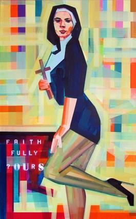 Obraz do salonu artysty Piotr Kachny pod tytułem Faith Trade