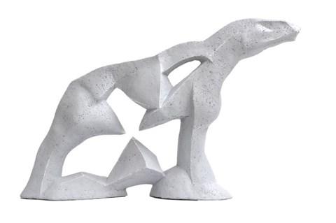 Rzeźba do salonu artysty Antoni Pastwa pod tytułem Koń VII