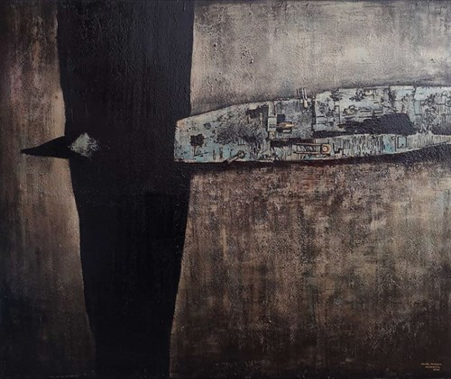 Obraz do salonu artysty Michał Mroczka pod tytułem Niszczyciel