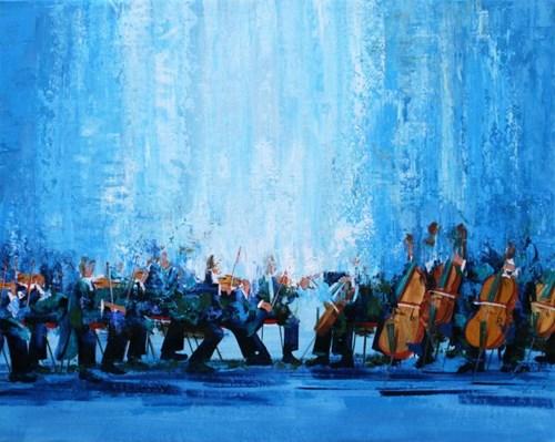 Obraz do salonu artysty Cyprian Nocoń pod tytułem Preludium