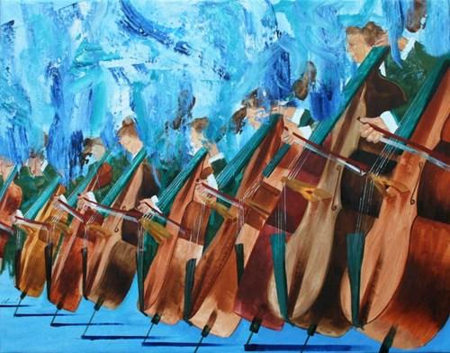 Obraz do salonu artysty Cyprian Nocoń pod tytułem Marsz