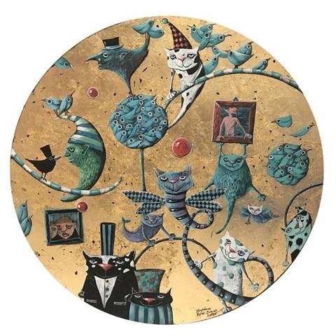 Obraz do salonu artysty Magdalena Rytel-Skorek pod tytułem Wakacje