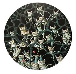 Obraz do salonu artysty Magdalena Rytel-Skorek pod tytułem Tondo