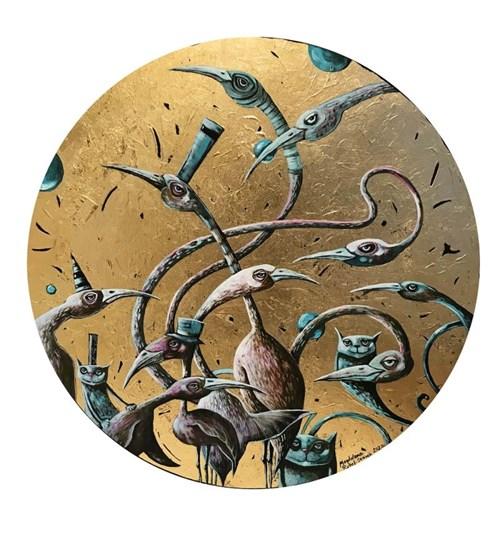 Obraz do salonu artysty Magdalena Rytel-Skorek pod tytułem Prowansja