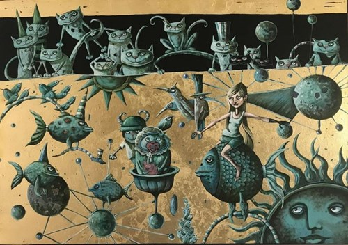 Obraz do salonu artysty Magdalena Rytel-Skorek pod tytułem Podróż