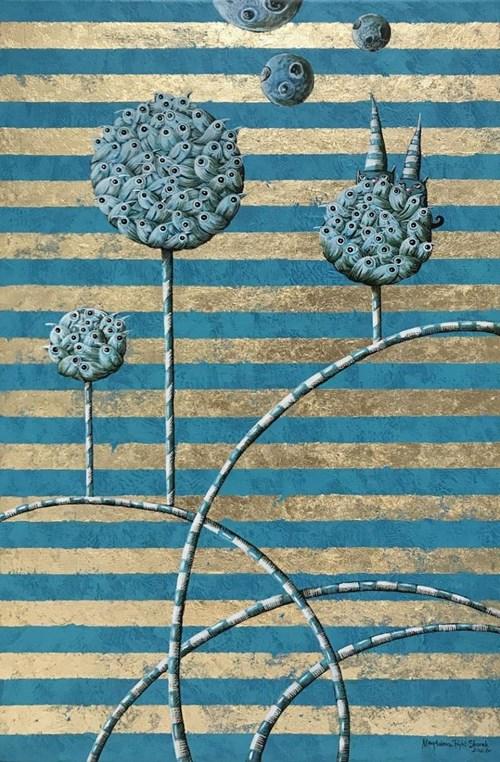 Obraz do salonu artysty Magdalena Rytel-Skorek pod tytułem Dwóch takich