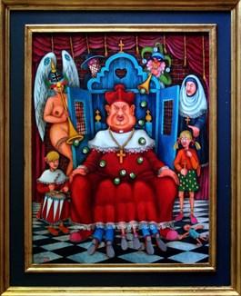 Obraz do salonu artysty Jacek Lipowczan pod tytułem Sunday school