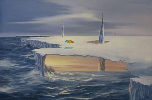 Obraz do salonu artysty Wiesław Król pod tytułem Vacances 3333