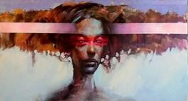 Obraz do salonu artysty Piotr Jakubczak pod tytułem Madonna