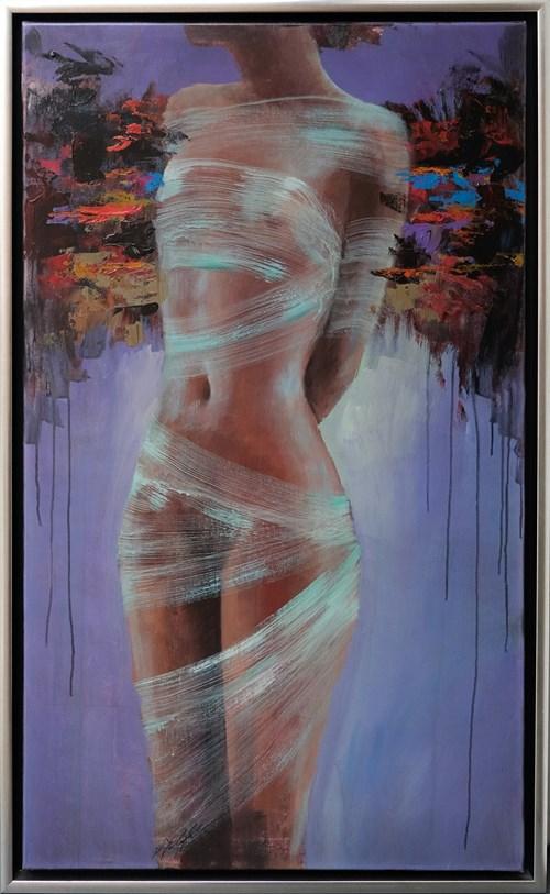 Obraz do salonu artysty Piotr Jakubczak pod tytułem Opętana