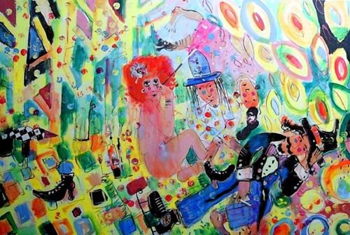 Obraz do salonu artysty Dariusz Grajek pod tytułem Wielka majówka