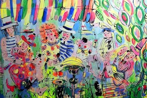 Obraz do salonu artysty Dariusz Grajek pod tytułem Piknik