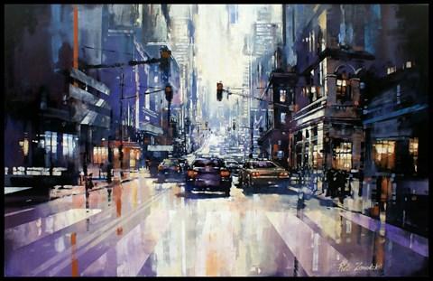 Obraz do salonu artysty Piotr Zawadzki pod tytułem Metropolis