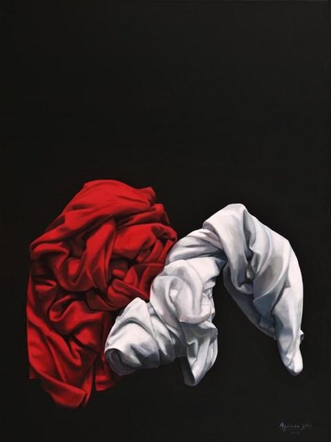 Obraz do salonu artysty Agnieszka Sitko pod tytułem Całuny VI