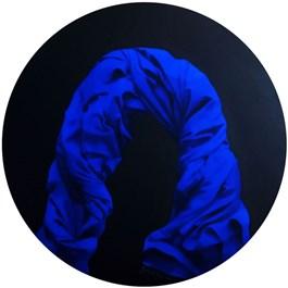 Obraz do salonu artysty Agnieszka Sitko pod tytułem Niebieski 3
