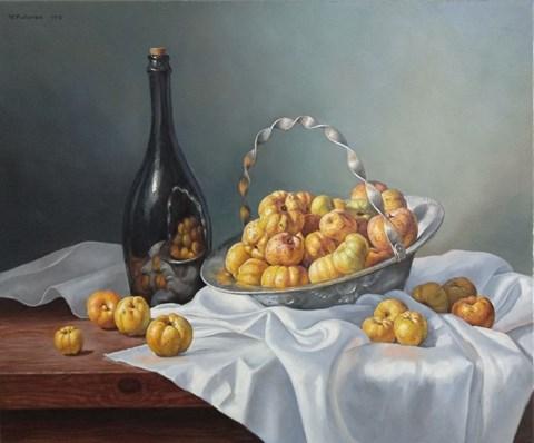 Obraz do salonu artysty Wojciech Piekarski pod tytułem Pigwy