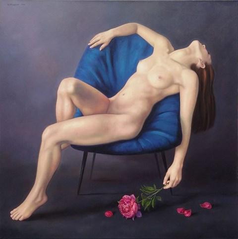 Obraz do salonu artysty Wojciech Piekarski pod tytułem Kocha, lubi, szanuje…