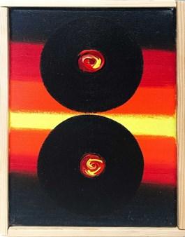 Obraz do salonu artysty Wojciech Ćwiertniewicz pod tytułem Bez tytułu (54)