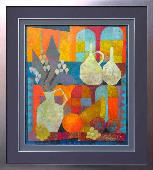Obraz do salonu artysty Jan Bonawentura Ostrowski pod tytułem Martwa natura