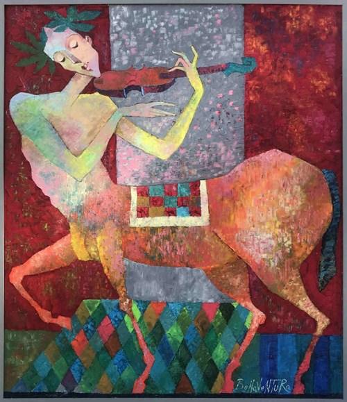 Obraz do salonu artysty Jan Bonawentura Ostrowski pod tytułem Centaur