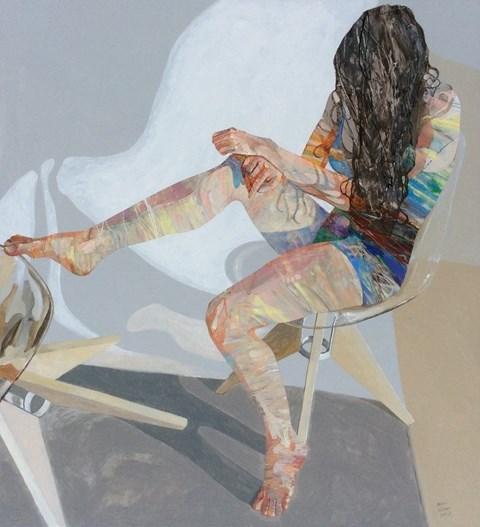Obraz do salonu artysty Adam Wątor pod tytułem Bez tytułu