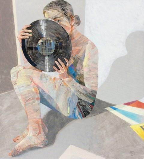 Obraz do salonu artysty Adam Wątor pod tytułem Winyl