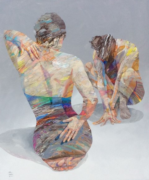 Obraz do salonu artysty Adam Wątor pod tytułem Mowa ciała