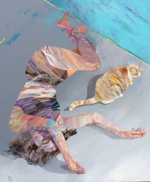 Obraz do salonu artysty Adam Wątor pod tytułem Wierny towarzysz
