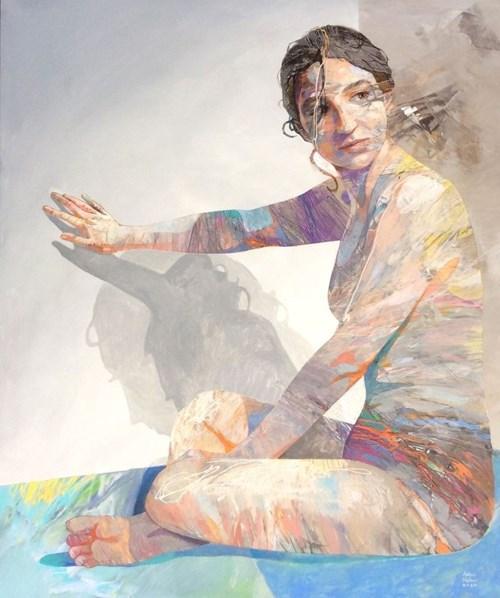 Obraz do salonu artysty Adam Wątor pod tytułem Czekając na inspirację