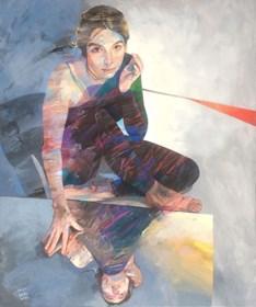 Obraz do salonu artysty Adam Wątor pod tytułem W odcieniach szarości
