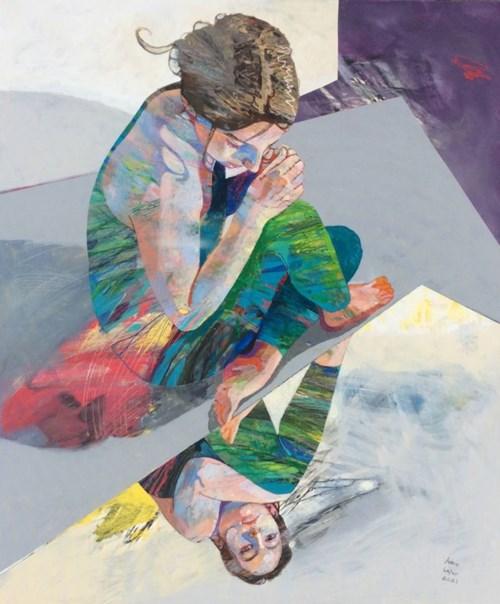 Obraz do salonu artysty Adam Wątor pod tytułem W kolorach wiosny
