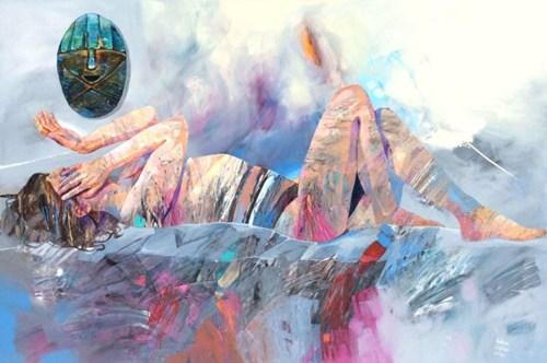 Obraz do salonu artysty Adam Wątor pod tytułem Strażnik spokojnego snu