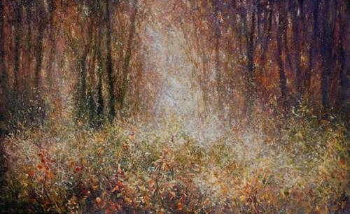 Obraz do salonu artysty Mariusz Kałdowski pod tytułem Enchanted Forest