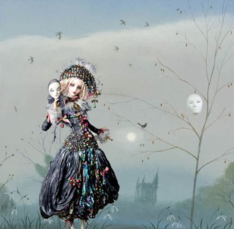 Obraz do salonu artysty Magdalena Zalewska pod tytułem Maskarada