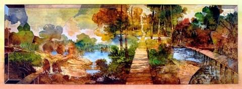 Obraz do salonu artysty Krzysztof Wieczorek pod tytułem Gra cieni I