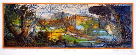 Obraz do salonu artysty Krzysztof Wieczorek pod tytułem Opowieści niderlandzkie II