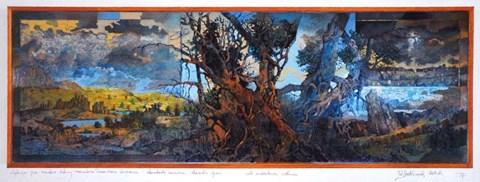 Rzeźba do salonu artysty Krzysztof Wieczorek pod tytułem Wędrując przez szerokie doliny